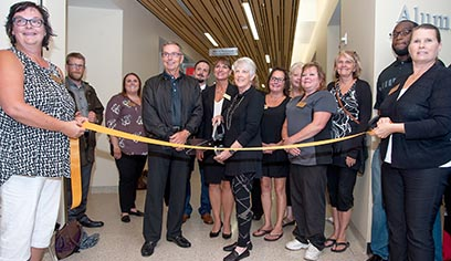 The University of Wisconsin-Superior celebrated the grand opening of the Pruitt Center for Mindfulness and Well-Being on August 27.