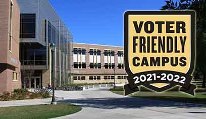 "UW-Superior earns ""Voter Friendly"" designation"