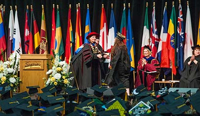 The University of Wisconsin-Superior will conduct its commencement on Saturday, May 18, at 2 p.m. at Siinto S. Wessman Arena.