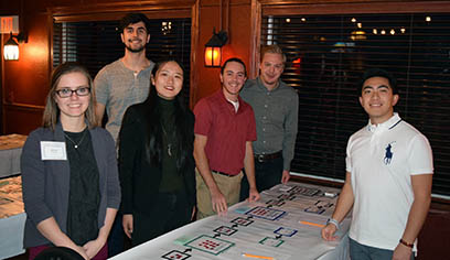 Beer Game helps students test knowledge of a supply chain