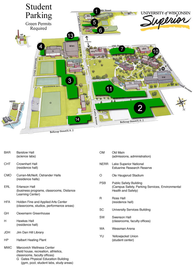 Parking Map for Students