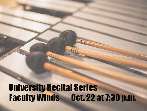 University Recital Series: Faculty Winds