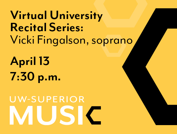 University Recital Series: Vicki Fingalson, soprano