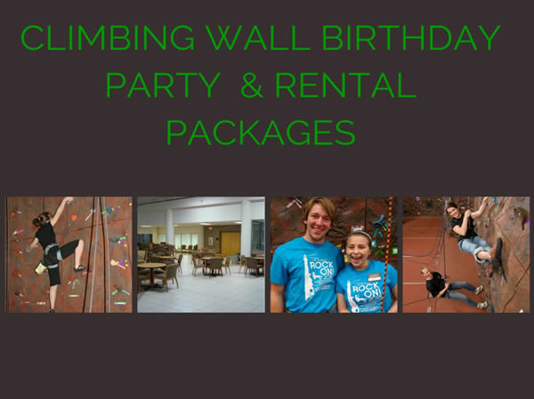 Rent the Climbing Wall