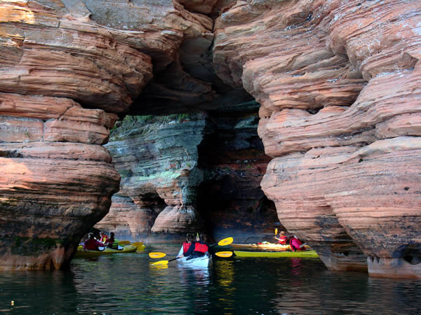 Kayaking for Superior Adventures