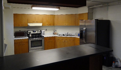 Faculty in Residence unit, Kitchen View