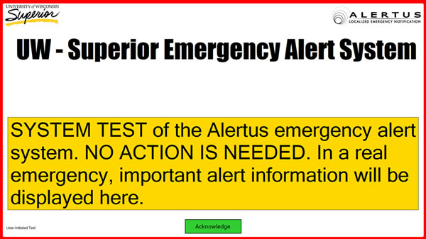 Alertus Screenshot