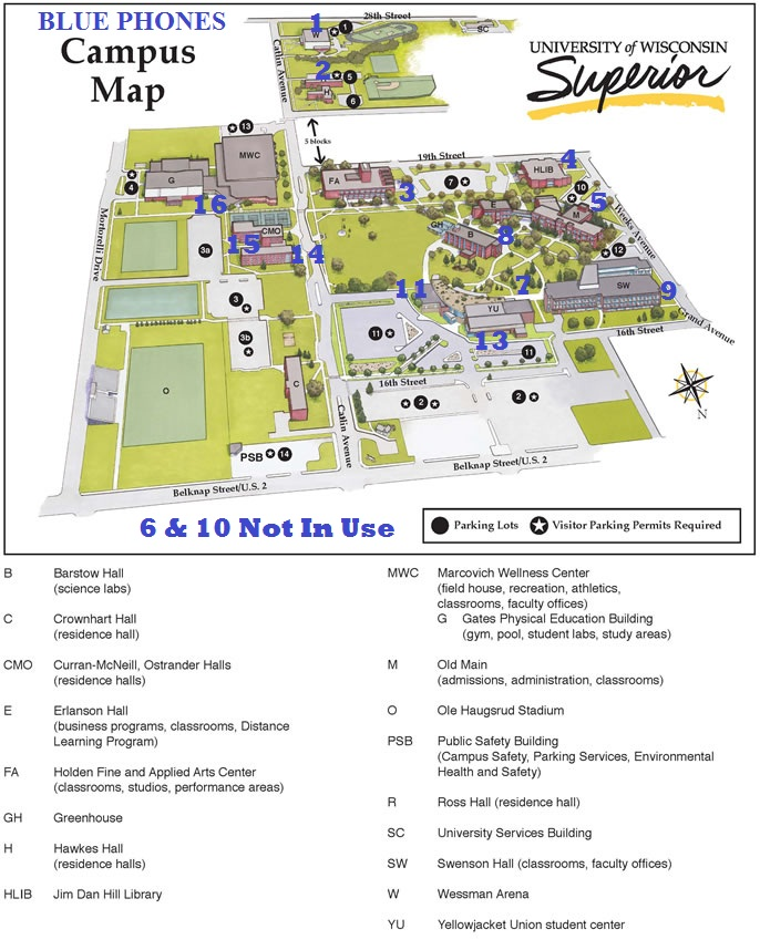 uws-campus-map_WEB_Blue Phones 2013