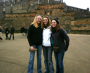 Paige, Kristen at Edinburgh Castle