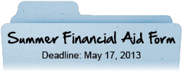Financial Aid Form