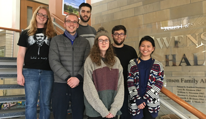 Students take part in Undergraduate Research Month