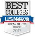 Badge - Best Colleges Midwest