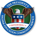 Badge - Presidents Higher Education Community Service