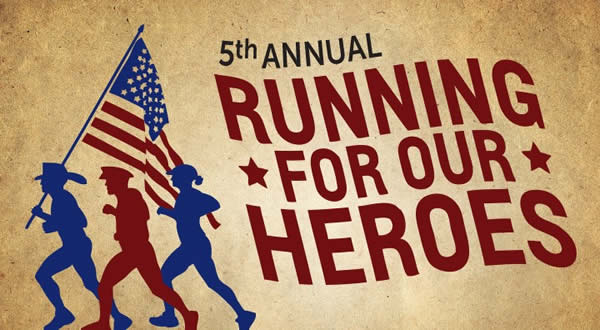 Running for Our Heroes Logo